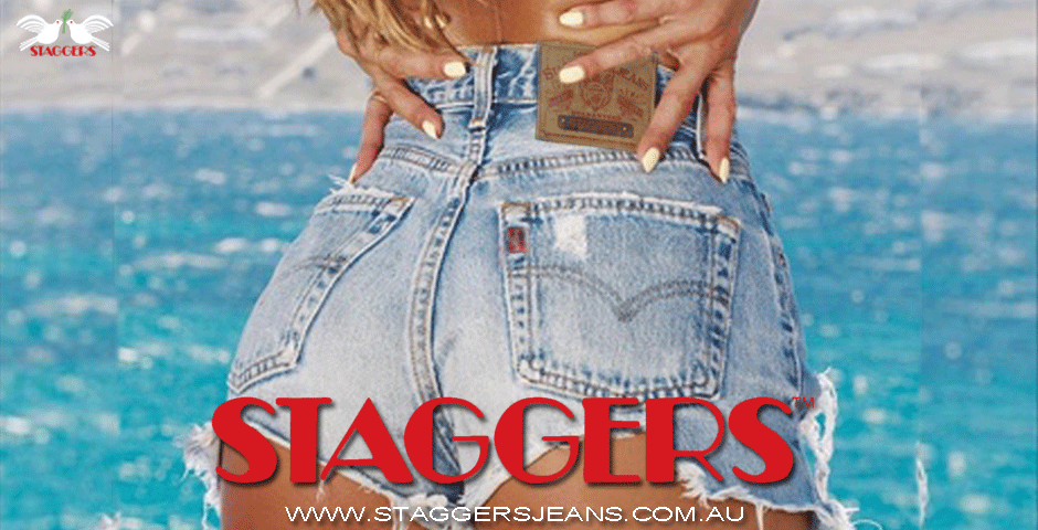 STAGGERS JEANS: BRAND JEANS: JEANS